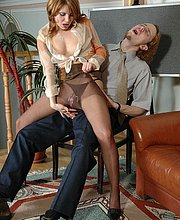 Husband Pantyhose Tales Brunette 7