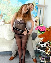 video mature pantyhose sex