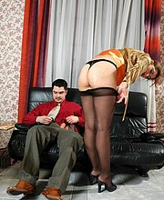 : NylonFever TGP : your daily free pantyhose sex