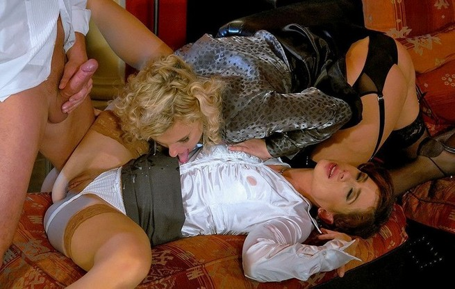 The Most Hardcore Pantyhose Sex Actions 9