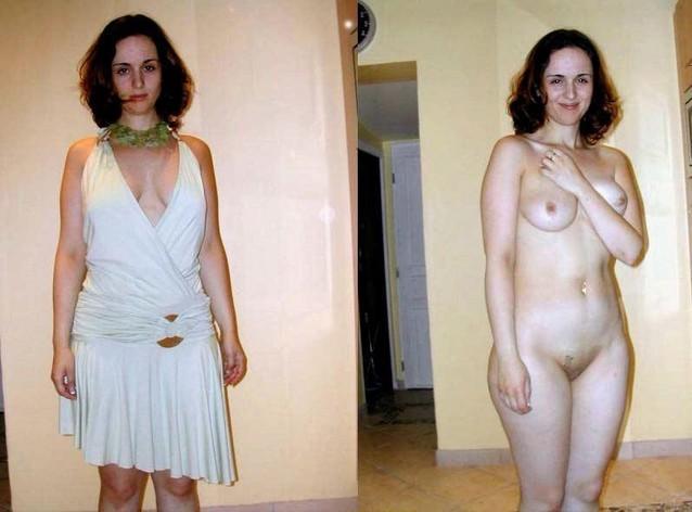 фото голых женщин снимают платья