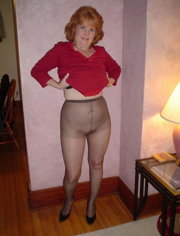 Consider, that Mature pantyhose panties
