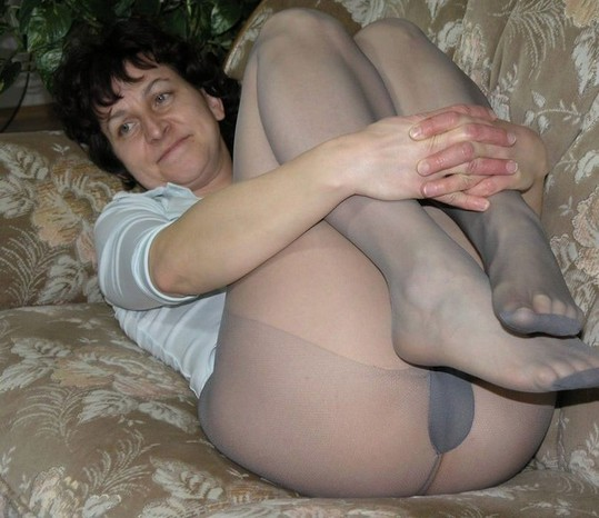 tight smooth pantyhose fabric
