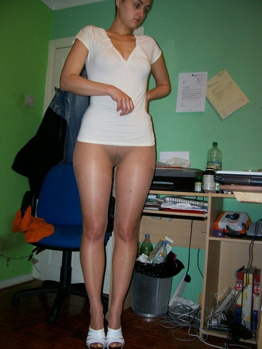 for pantyhose licking