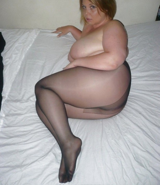 Fat woman pantyhose