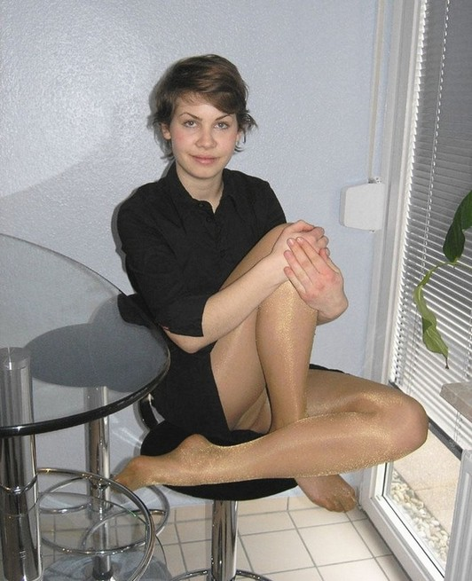 In Pantyhose Action Pantyhosed 53