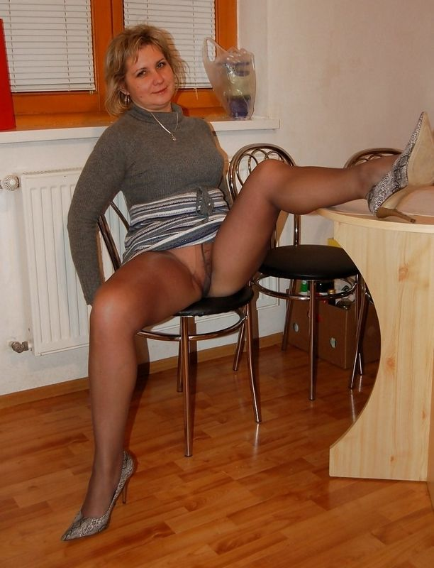 label pantyhose tease