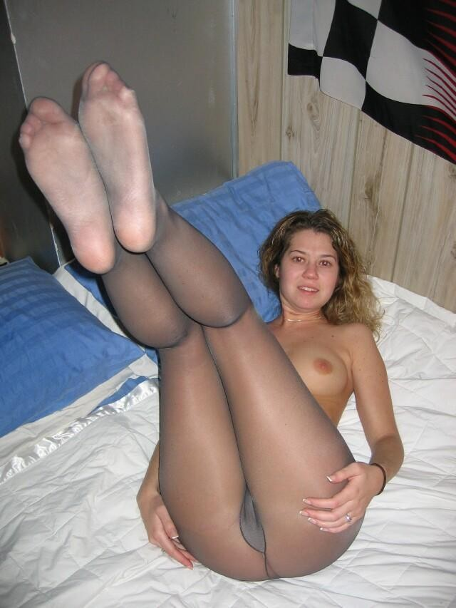 young girl in pantyhose tubes