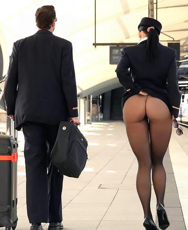 стюардесса с большой попой фото