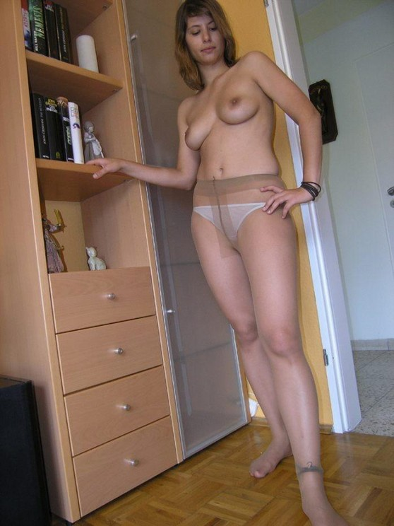 home Amateur pantyhose