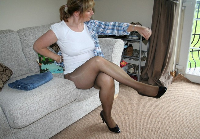 Rights Reserved Mature Pantyhose Obsession From 53
