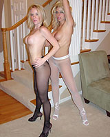 moms pantyhose videos