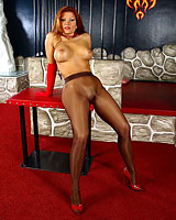 In Pantyhose Shows Various 67